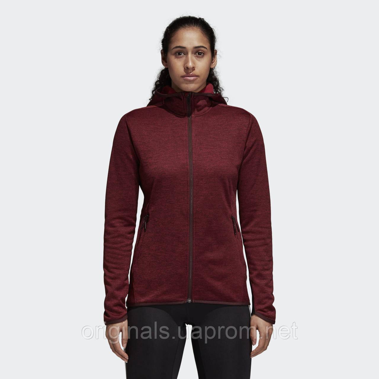 Теплая женская толстовка Adidas Transitional DM4402