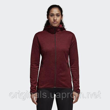 Теплая женская толстовка Adidas Transitional DM4402, фото 2