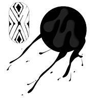 Паутинка черная 5 мл