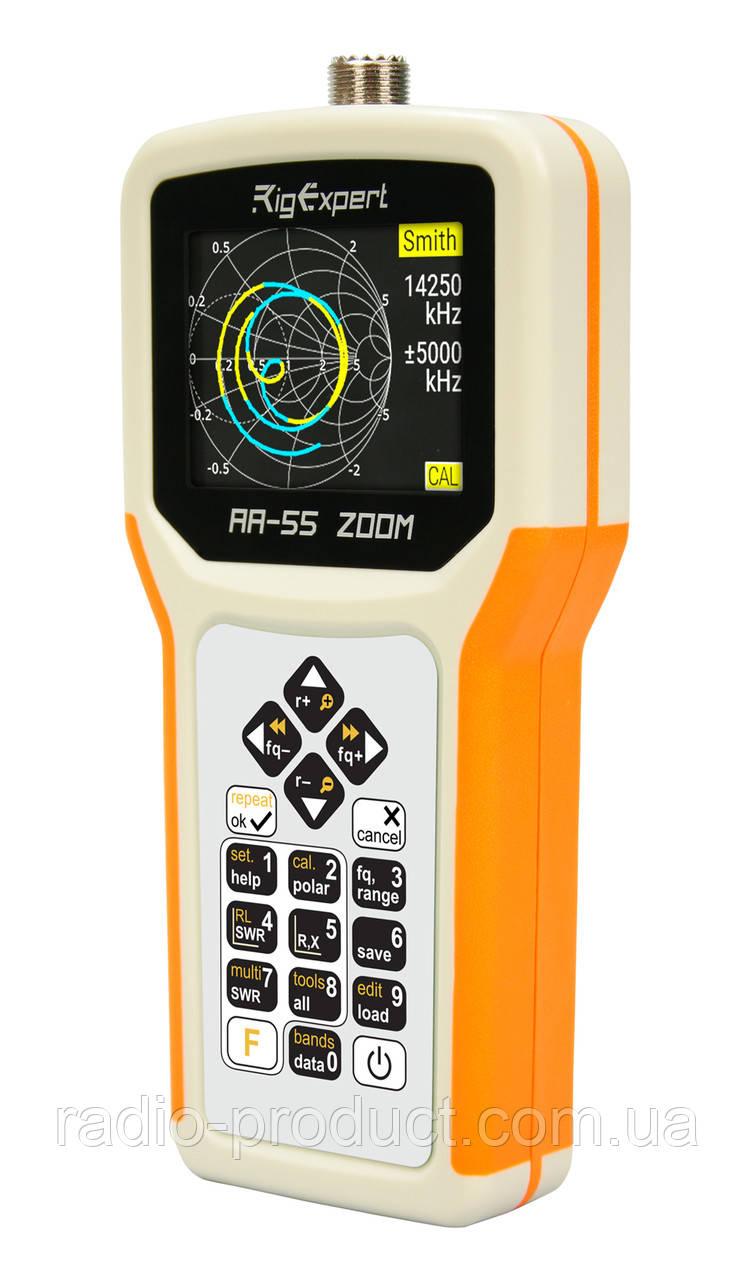 RigExpert AA-55 ZOOM Option Bluetooth - антенный анализатор