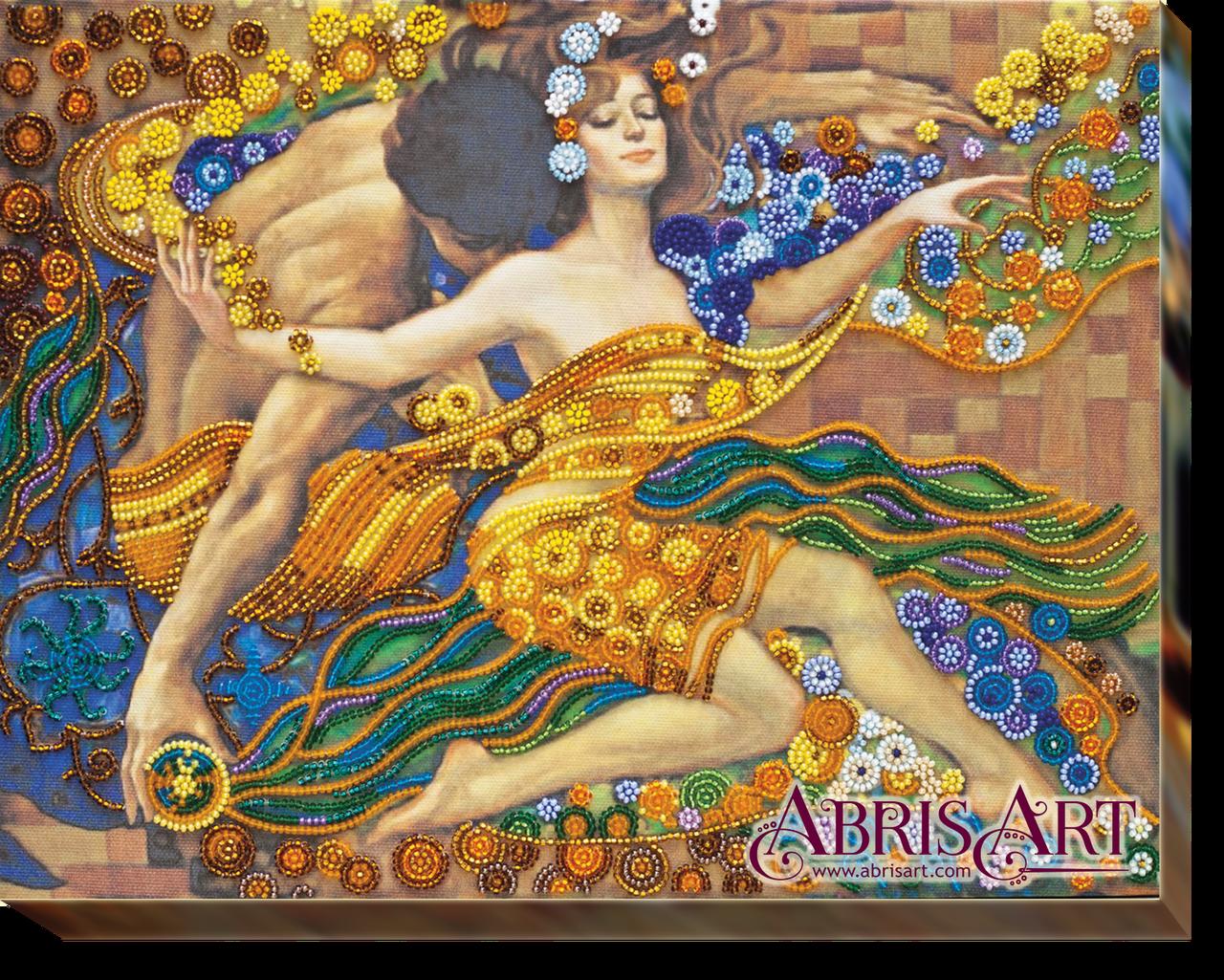 """Набор для вышивки бисером ТМ АБрис Арт на натуральном художественном холсте """"Реки любви"""""""