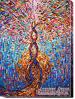 """Набор для вышивки бисером ТМ АБрис Арт на натуральном художественном холсте """"Соединение"""""""