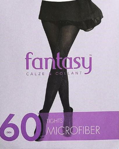 Колготы 60 ден Fantasy микрофибра цвет Visone (какао) размер 4