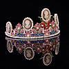 Тіара в стилі Dolce&Gabbana корона АМАЛІЯ, прикраси для волосся, діадема, фото 2