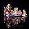 Тіара в стилі Dolce&Gabbana корона АМАЛІЯ, прикраси для волосся, діадема, фото 8