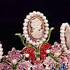 Тіара в стилі Dolce&Gabbana корона АМАЛІЯ, прикраси для волосся, діадема, фото 7