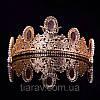 Тіара в стилі Dolce&Gabbana корона АМАЛІЯ, прикраси для волосся, діадема, фото 6