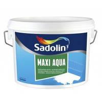 Влагостойкая мелкозернистая легкая шпаклевка SADOLIN MAXI AQUA 10 л