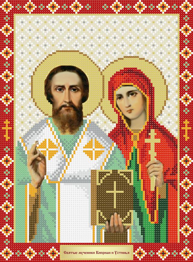 Рб-4-169 Святі мученики Кіпріан і Устинья