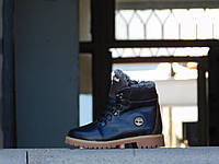 Подростковые ботинки Timbarlannd Черные 10320