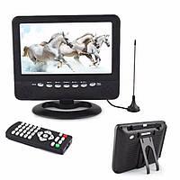"""Портативний телевізор з цыфровим T2 тюнером Opera NS-901B (9""""/USB/ТБ/T2)"""
