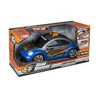 Моторизованный автомобиль Toystate VW Beetle. Свет, звук, движение 27см