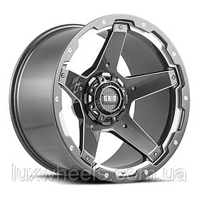 Диски GRID OFF-ROAD GD-4 Gloss Graphite Milled