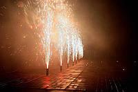 Сценические фонтаны, уличные вулканы, бенгальские свечи как идеальные дополнения к любому празднику