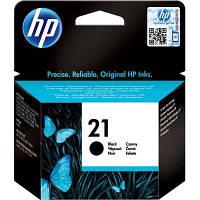 Картридж HP №21 (C9351AE), Black, DJ3920/PSC1410, OEM