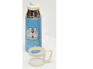 Термос с поилкой + чашка 350 мл T89, детский термос, фото 2