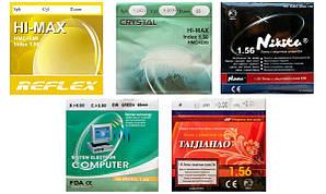 Лінзи для окулярів Полімерна астигматическая комп'ютерна з покриттям Reflex EMI. Індекс 1,56.