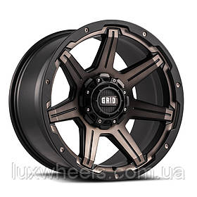 Диски GRID OFF-ROAD GD-6 Metallic with Dust Matte Black
