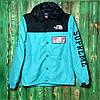 Рефлективная куртка Supreme x TNF blue/Black  (ТОП реплика)