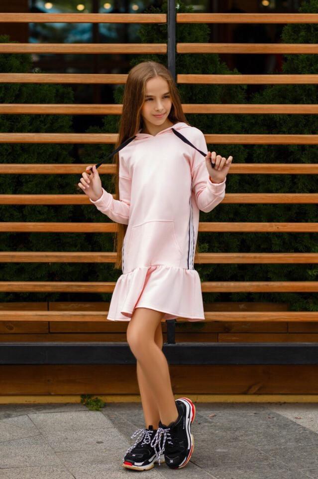 Платье LiLove 392-1 146 розовый