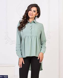 Женская осенняя рубашка-туника