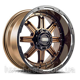Диски GRID OFF-ROAD GD-10 Gloss Bronze with Gloss Black Milled