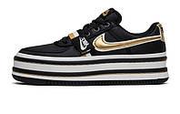 Женские кроссовки Nike Vandal 2K Black/White/Gold
