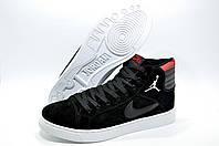 Мужские зимние кроссовки в стиле Найк Air Jordan Retro, Чёрные