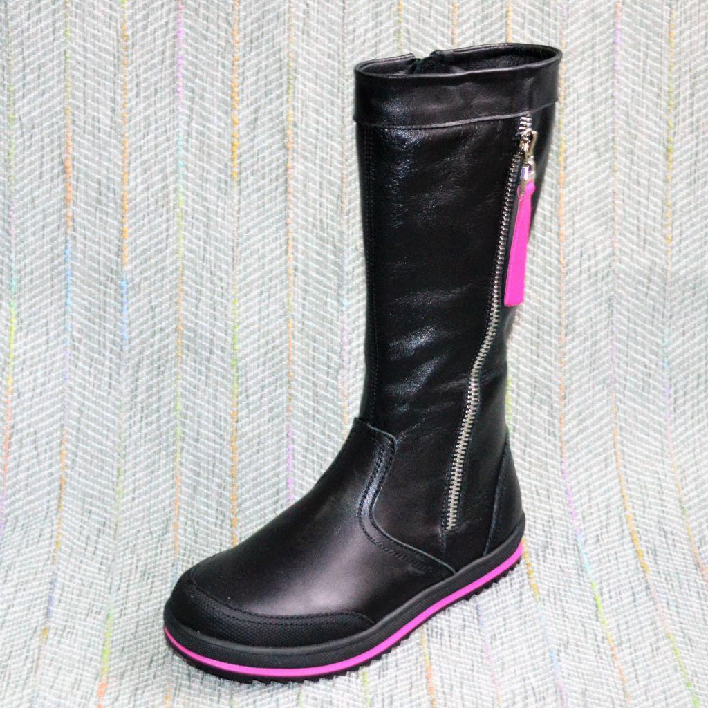 Cапоги для дівчаток, Eleven Shoes (код 0394) розміри: 31-32