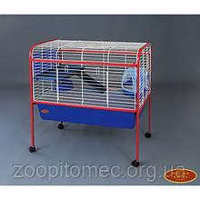 Клетка вольер для морских свинок, шиншилл, фреток, кроликов 88х54х91 см