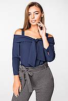 Блуза 2165 синий, фото 1