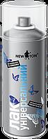 Лак в аэрозоле алкидный Матовый NewTon.Баллон 400 ml., фото 1