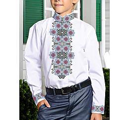 Заготовка дитячої сорочки та вишиванки для вишивки бісером для хлопчиків Бисерок «Легенда X-167» (X-167)