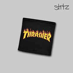 Теплый горловик Thrasher черного цвета  (люкс копия)