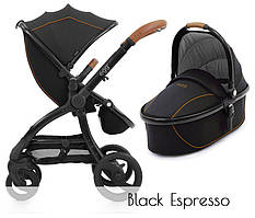 Универсальная коляска 2 в 1 BabyStyle Egg  Espresso