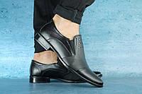 Мужские классические черные туфли 10595