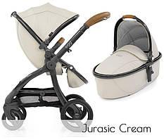 Детская универсальная коляска 2 в 1 BabyStyleEGG Stroller Jurassic Cream