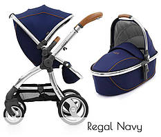 Универсальная коляска 2 в 1 BabyStyle Egg Regal Navy