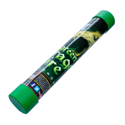 Фаєр зелений ручної FOF004G