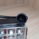 Фонарь задний Газель, 3302,33021, (бортовая) светодиодный рестайлинг, фото 3