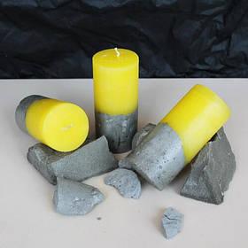 Свеча декоративная ручной работы малая