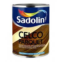 Лак для пола на водной основе CELCO PARQUET (FLOOR AQUA) глянцевый, 5 л