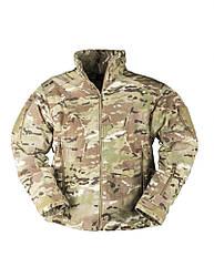 Куртка флисовая Mil-Tec Delta Multicam