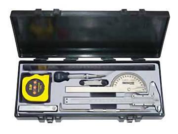 Набор измерительных инструментов 9 пр. Force 5096 F