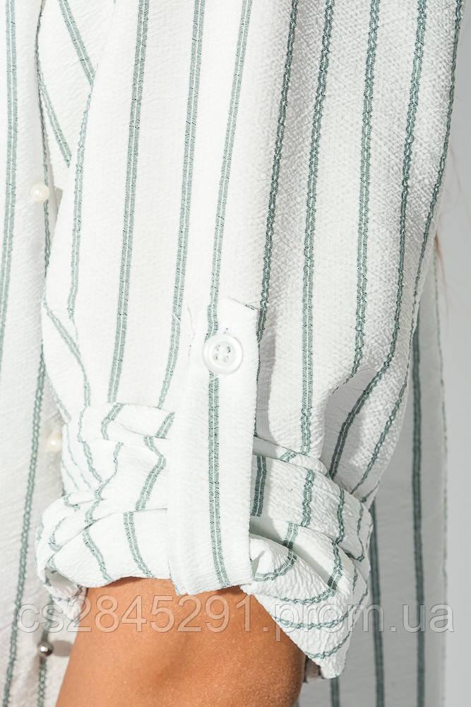 c03577dda145 Рубашка женская праздничная 51P003 (Бело-оливковый)