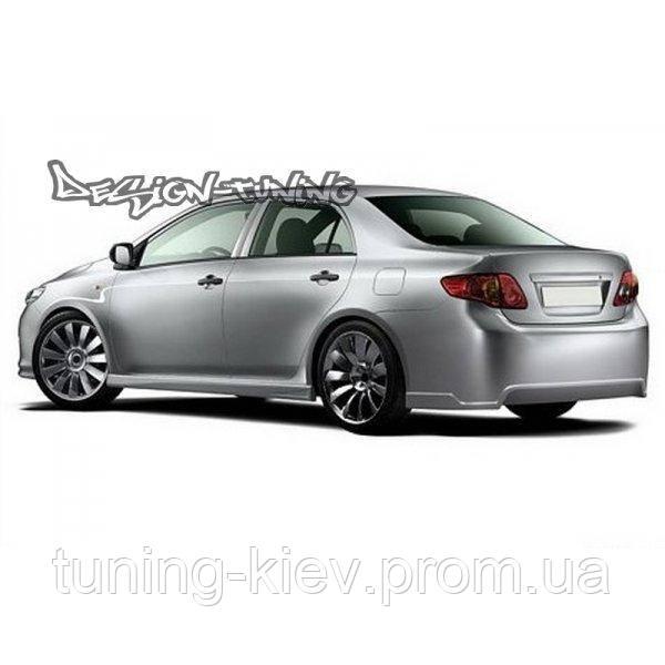 Бампер задний Toyota Corolla (2006-...)