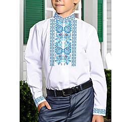 Заготовка дитячої сорочки та вишиванки для вишивки бісером для хлопчиків Бисерок «Цветочная Х-180» (Х-180)