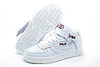 Кроссовки унисекс в стиле Fila FX100 Mid, Белые