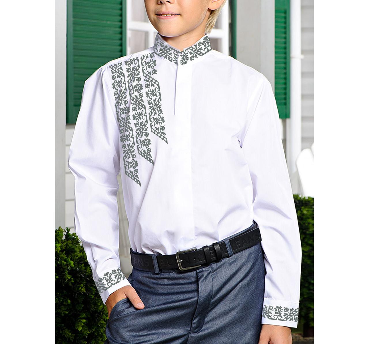 Заготовка дитячої сорочки та вишиванки для вишивки бісером для хлопчиків Бисерок «Х-222» (Х-222)