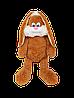 Зайчик Алина Несквик 75 см коричневый
